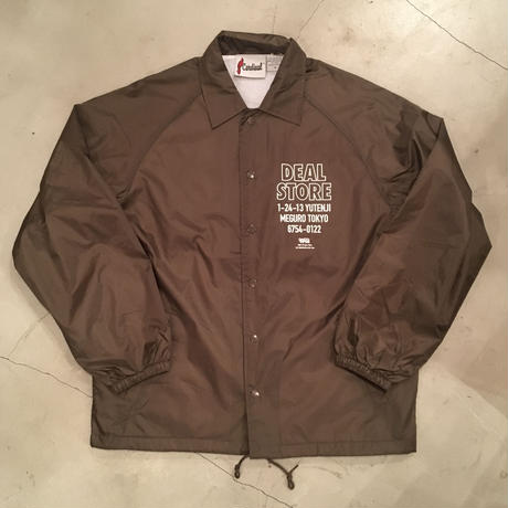 "DEAL STORE Originals ""store staff coach jacket"" / Colar:Brown"