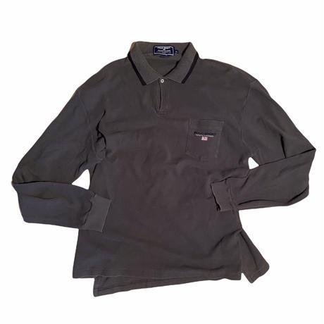 "POLO SPORT ""waffle L/S polo shirt / size XL"