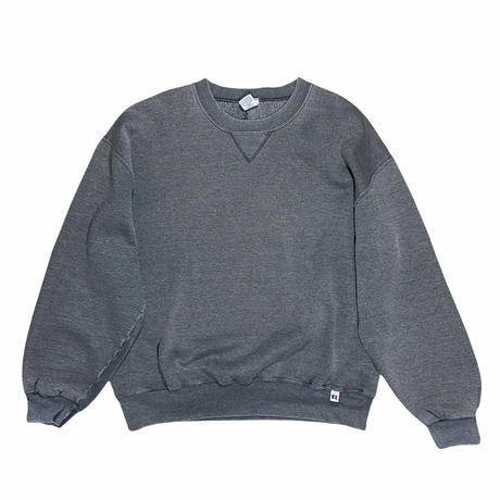 """""""Russell Athletics"""" plain crewneck sweat / size XL / made in Mexico"""