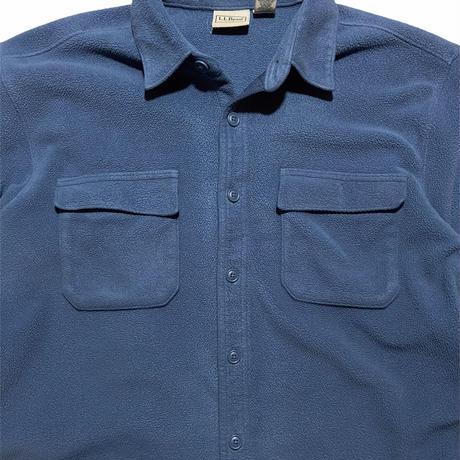 """""""L.L.Bean"""" fleece shirts / size L"""