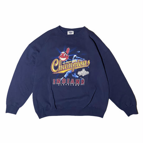 """""""INDIANS champions"""" sweat / size XXL / made in USA"""
