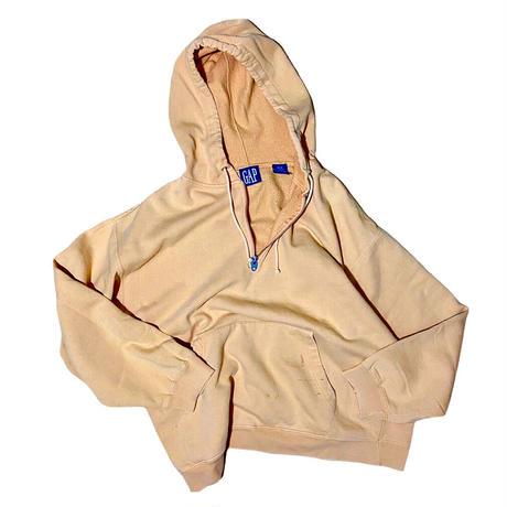 """GAP """"half zip hoodie"""" / size M"""