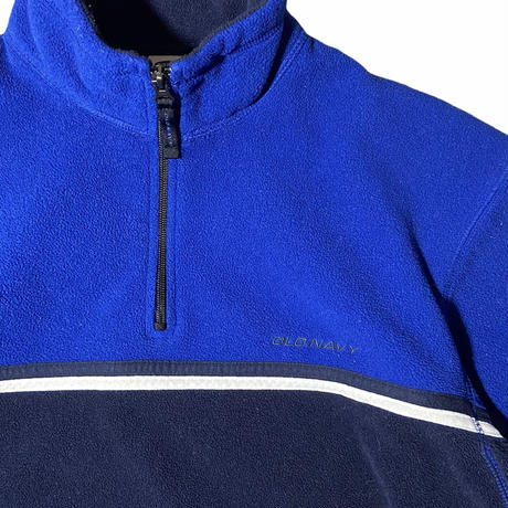 """""""OLD NAVY"""" half zip pullover fleece jacket  / size L"""