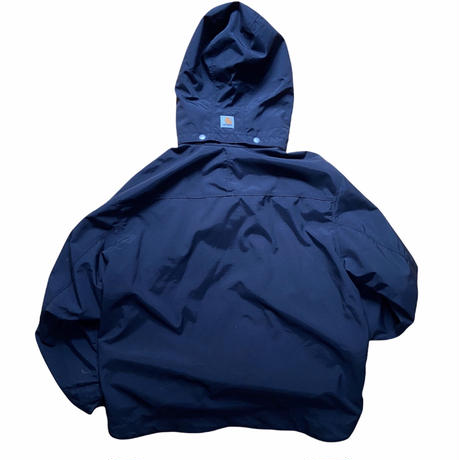 """Carhartt """"storm defender"""" jacket / size L (フード着脱可) / color:black"""