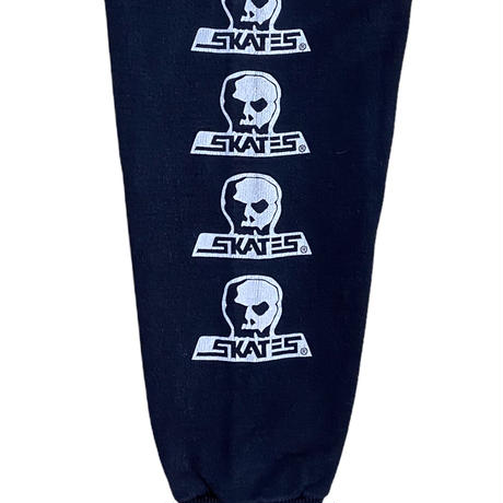 "90s Skull skates ""skull logo hoodie"" / size L"