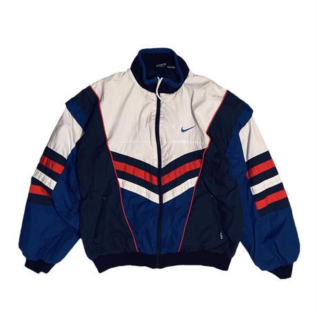 "NIKE ""three primary colors batting nylon jacket / size L"