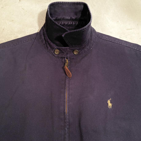 "Polo Ralph Lauren ""swing top jacket"" / size L / color:navy"