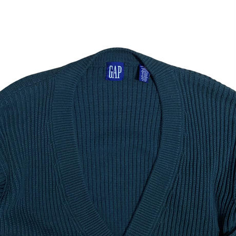 GAP cotton cardigan / size M / color:forest green