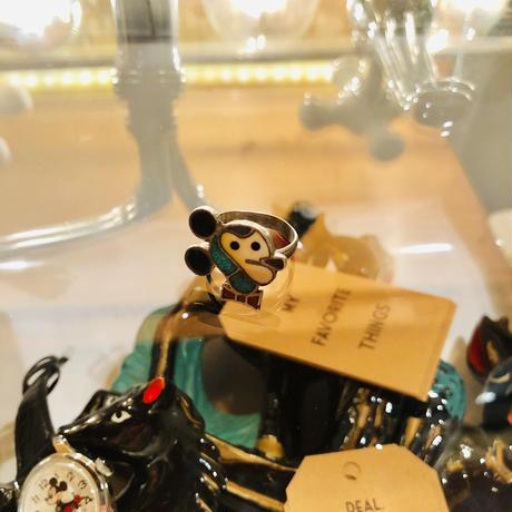 vintage ZUNI mickey ring #R/29