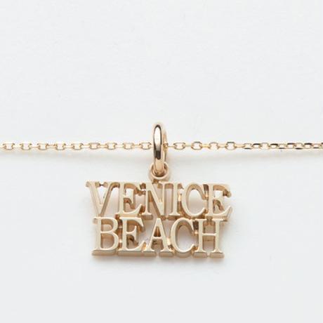 text necklace  -VENICE BEACH-