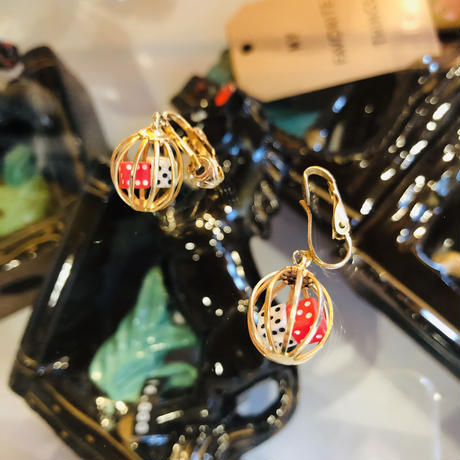vintage earring #LE36