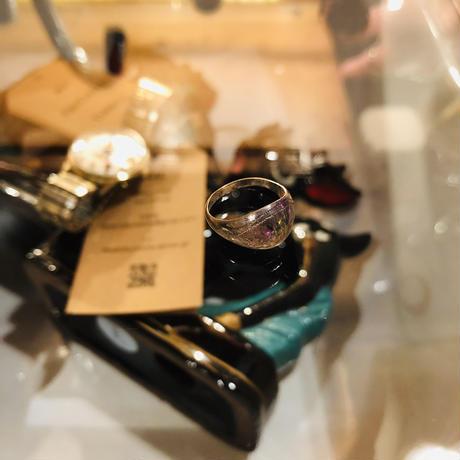 vintage pinkie ring #R/42