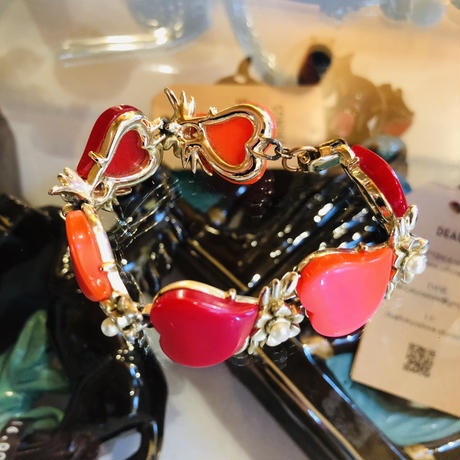 vintage heart bracelet #B/5