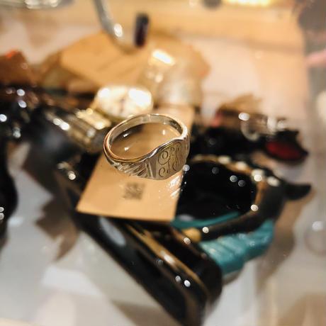 vintage signet ring#R/33
