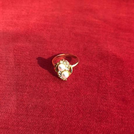 vintage Perl ring#TNR073