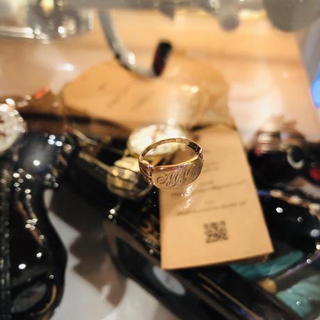 vintage baby ring #R56