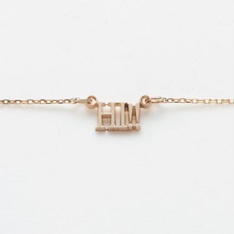 text necklace  -HI!!-