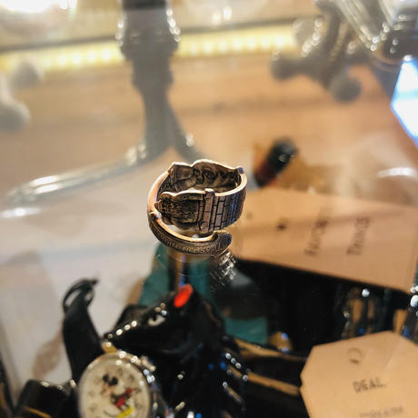 vintage spoon ring #R/16