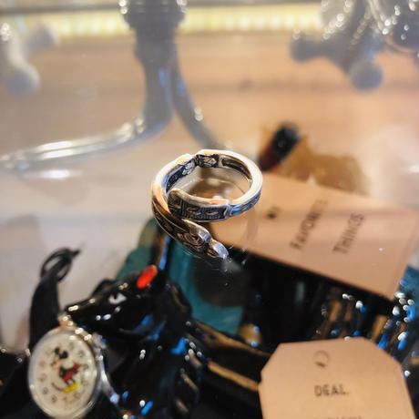 vintage spoon ring #R76