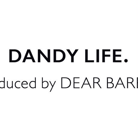 【リリース記念20%OFF 8.1~9.30】DEAR BARBERオリジナル 大人紳士のスタイリングジェル【dandy life Dジェル /100g ¥2,400+税】