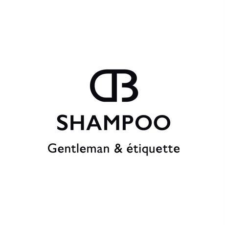 30代からの大人紳士のためのSHAMPOO【dbシャンプー/500ml詰替用レフィル ¥3,200+税】