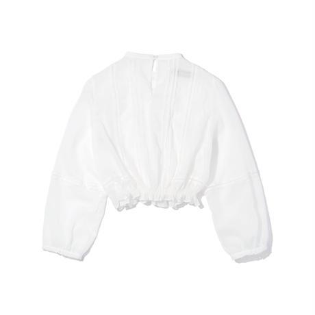 lace patchwork blouse