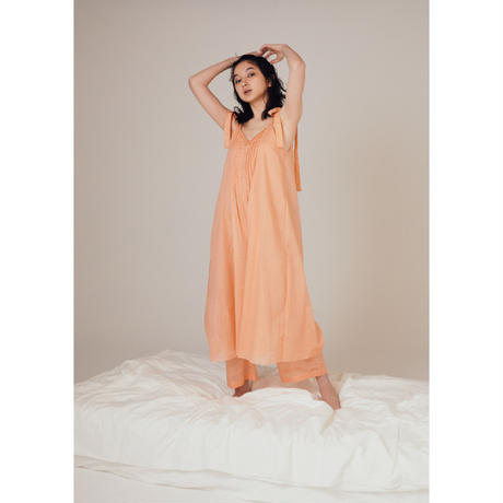 dress all-in-one  / apricot