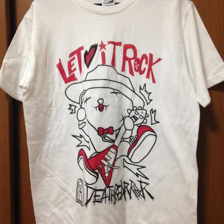 Tシャツ005【LET IT ROCK】W