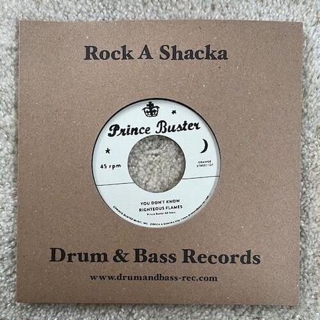 """(7"""") PRINCE BUSTER / ALL MY LOVING b/w RIGHTEOUS FLAMES / YOU DON'T KNOW  <rocksteady>"""
