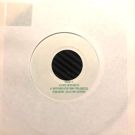 """(7""""/ USED) Omar-S / 1 Out Of 853 Beats  <detroit techno>"""
