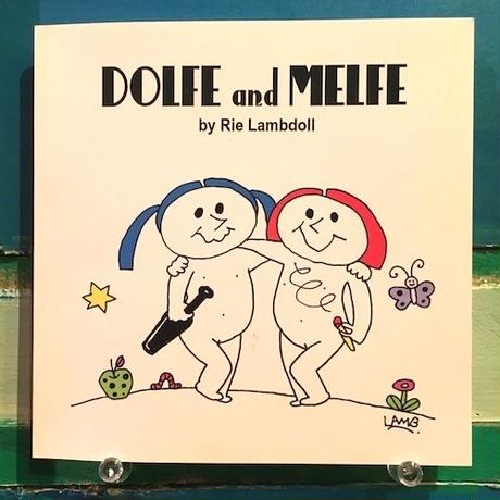(books+MIXCD) Rie Lambdoll / DOLFE and MELFE             <hardcore絵本 / mixcd>