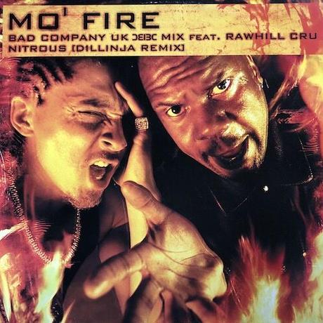 "(12""/ USED) Rawhill Cru - Bad Company /  Mo' Fire - Nitrous (Remixes) <d'n'b>"