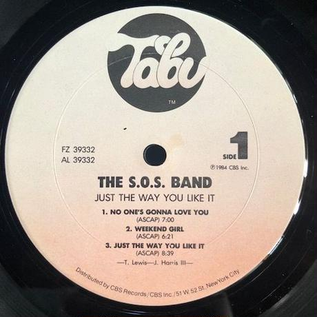 (LP /USED) SOS BAND / Just The Way You Like It  <disco / soul>