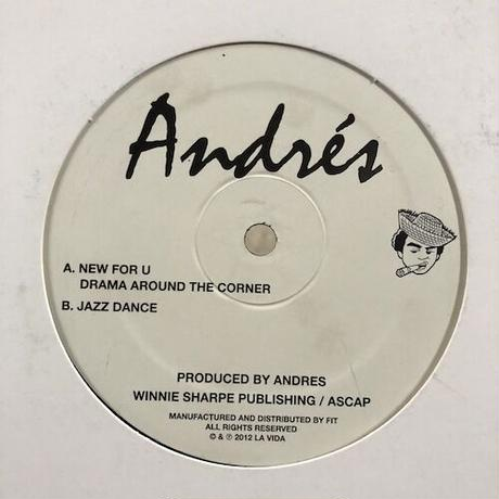 """(12"""" / used) Andrés / New For U  <house / beatdown>"""