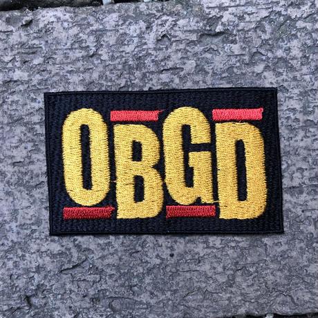 (ワッペン) OBGD  - OBRIGARRD