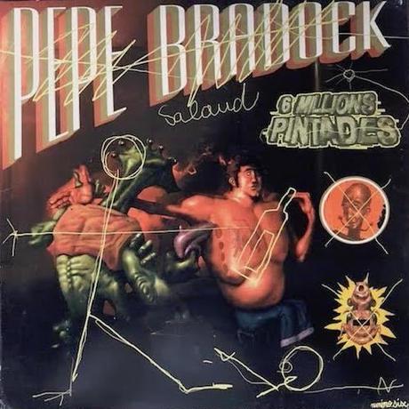 """(12""""/ used) PEPE BRADOCK / 6 Millions Pintades  <house / breakbeats>"""
