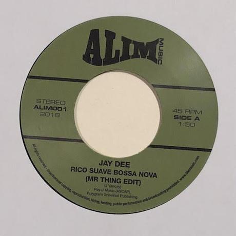 "(7"") Jay Dee a.k.a.J Dilla / Rico Suave Bossa Nova   <hiphop / rap / breakbeats>"