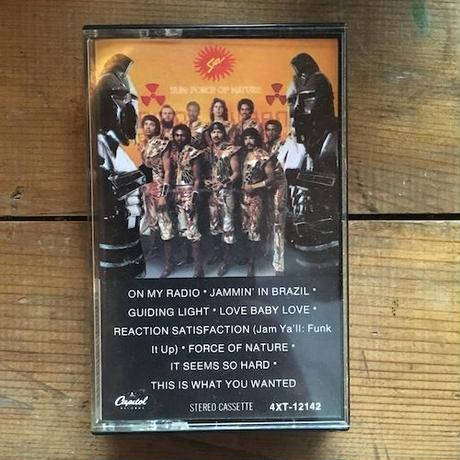 (TAPE) SUN / Force of Nature     <funk / soul / used>