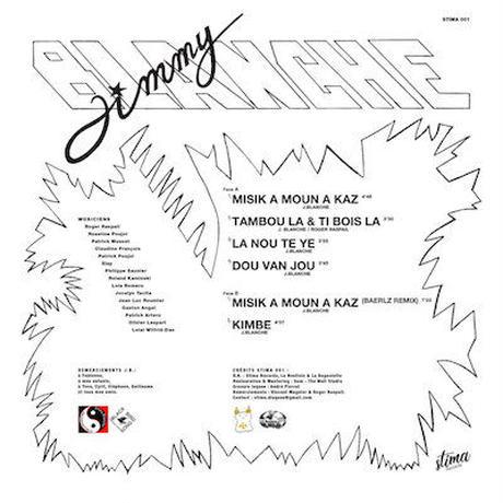 (LP) Jimmy Blanche / Dou Van Jou   <afro / carib / world>