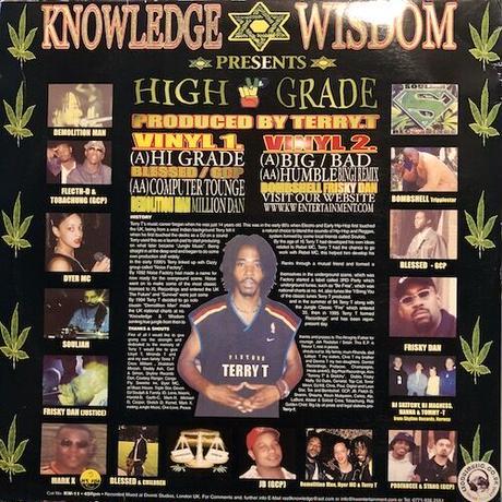 (2LP/ USED) Knowledge & Wisdom / High Grade  <ragga jungle / d'n'b>