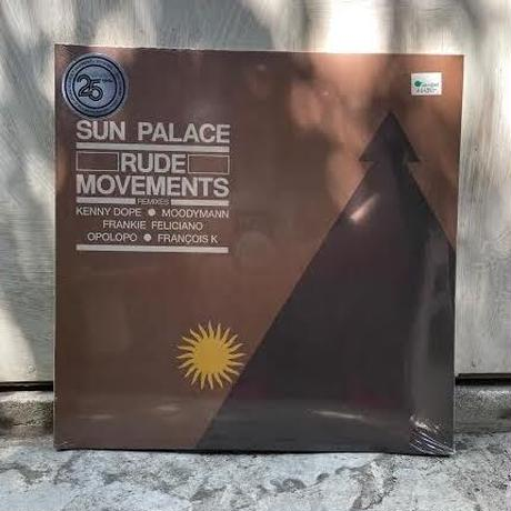 (2LP) SUN PALACE / RUDE MOVEMENTS The Remixes   <electronics / house>