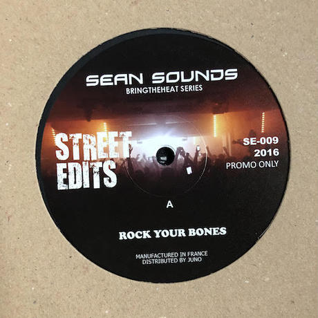 "(12""/ used) Sean Sounds ‎/ Bringtheheat Series Label: Street Edits    <soul / Re edit>"