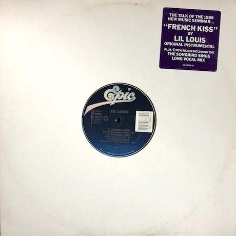 """(12""""/ used) Lil Louis / French Kiss <house / NYC>"""