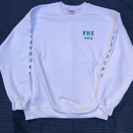 "(SWEAT) shoguntapes × mobiledisco ""VHS only"" WHITE decibel limited color"