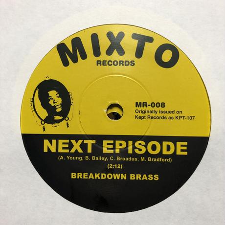 "(7"") Breakdown Brass / Next Episode  <world / funk /brass/ hiphop>"