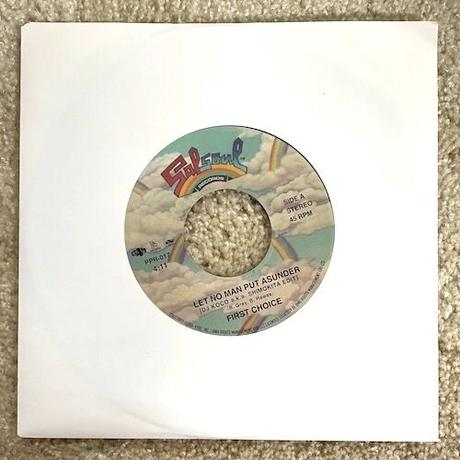 """(7"""") First Choice / Let No Man Put Asunder  <soul / disco / boogie>"""