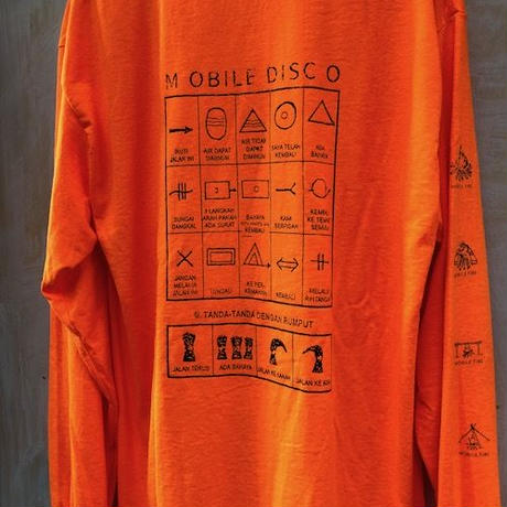 (T-shirts) MOBILEDISCO BALI Mountain Sign L/S Tee - M -