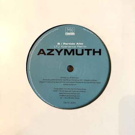 """(12""""/ USED) Azymuth / Avenida Das Mangueiras (Theo Parrish Remix)  <jazz / house / beatdown>"""