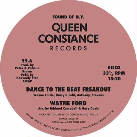 """(12"""") Wayne Forde / Dance To The Music Freak Out   <Boogie / disco>"""