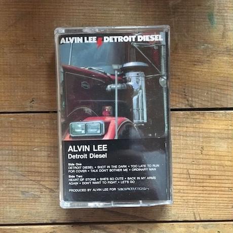 (TAPE) ALVIN LEE / Detroit Diesel   <blues rock / used>